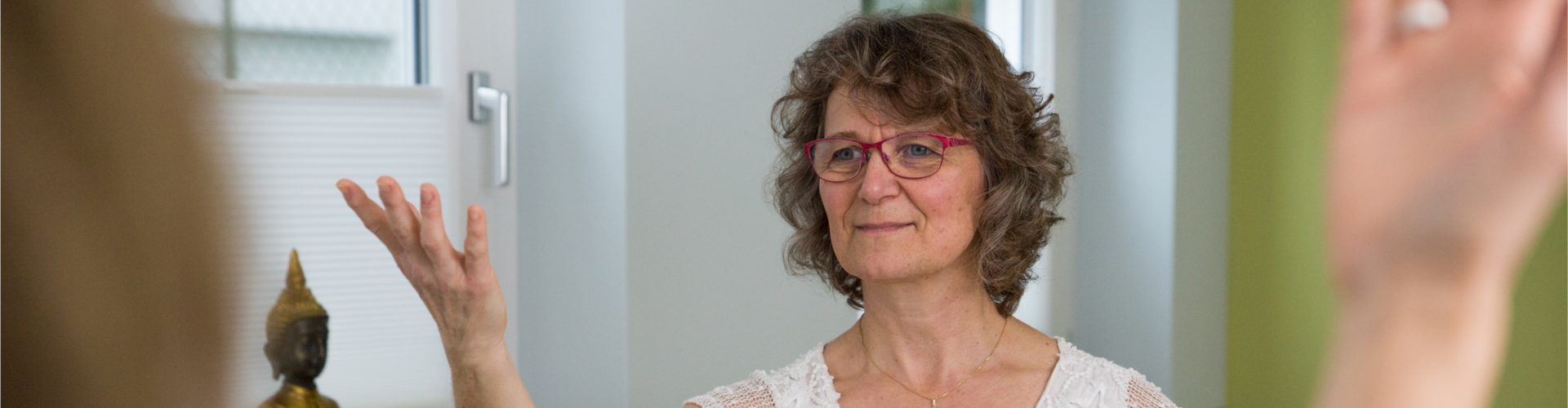 Annette Röhrig in Therapie